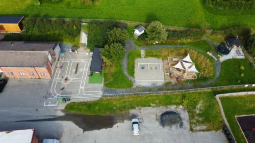 Akrobaten barnehage - Uteområde