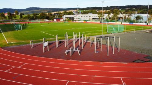Fotballstadion - Treningspark